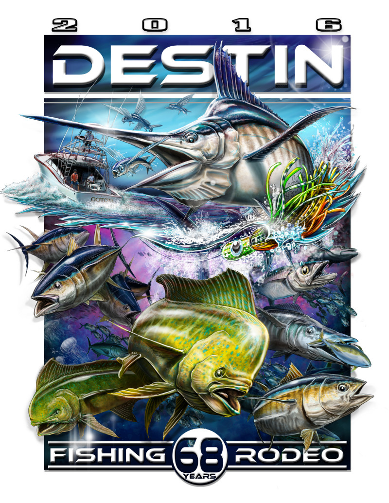 Destin Fishing Rodeo Logo